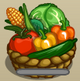 Basket of Vegetable Crops-icon