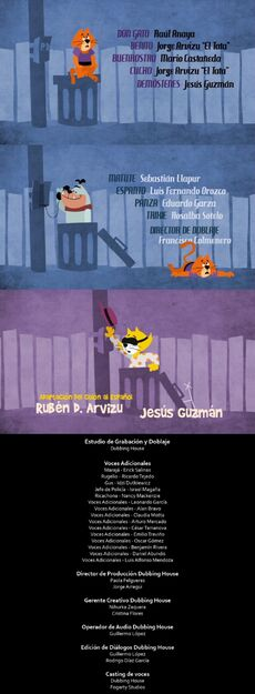 Doblaje Latino de Don Gato y su Pandilla La Película