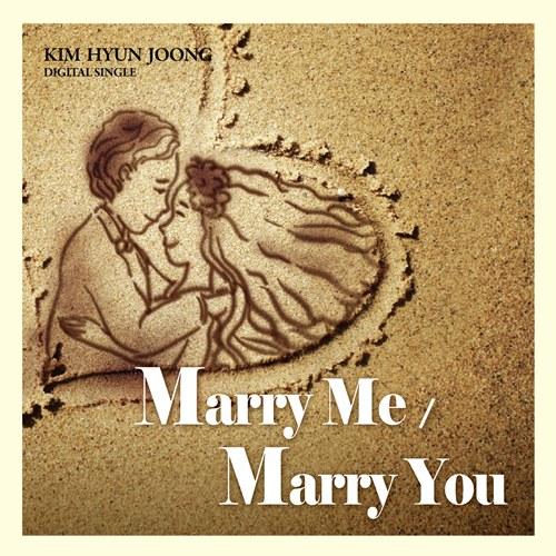 "Kim hyun Joong -""marry me"" y ""marry you"" DigitalSingleMarryme"