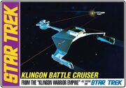 AMT Model kit AMT720 Klingon Battle Cruiser 2011