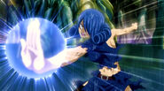 Juvia fight agains Meredy