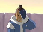 Sokka facepalms