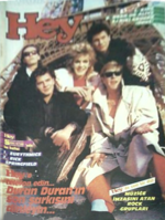 1 HEY MAGAZINE TURKISH DURAN DURAN 1