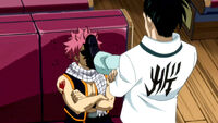 Kageyama Stars to slap Natsu around
