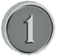 Pre-Alpha Silver Coin &#39;&#39;1&#39;&#39;