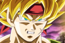 Bardock en super saiyan