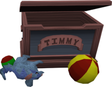 Timmy&#39;s toy chest