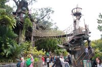 Tarzan's Treehouse at Disneyland Anaheim