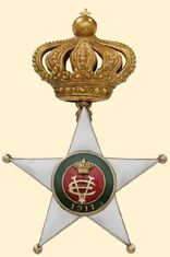 Colonial Order of the Star of Italy Medal