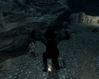 Skyrim bug werewolf torch