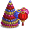 Big New Year Lantern Tree-icon
