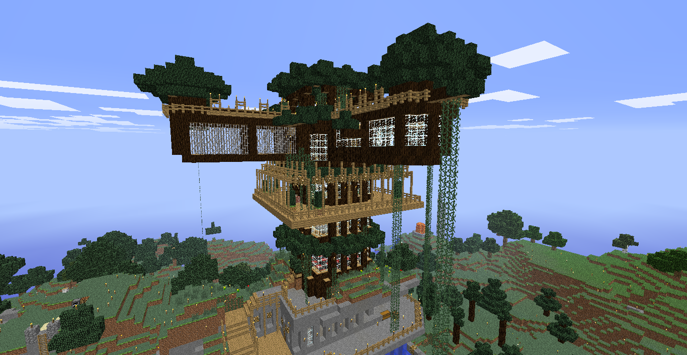 Ashley's Treehouse - ScottLand Minecraft Wiki