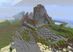 Minecraft-castle