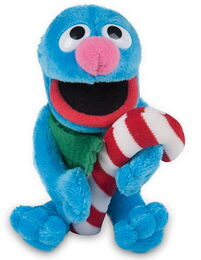 Gund 2010 musical holiday plush grover