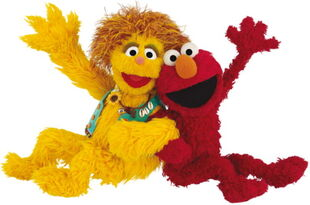 Kami-and-elmo
