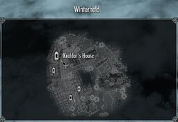 Winterhold kraldars house