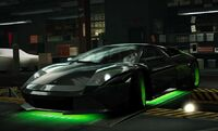 Nfs world lamborghini murcielago treasure hunter