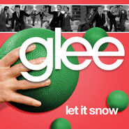 Glee - let it snow