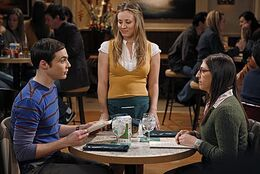 The shiny trinket maneuver Shamy date and Penny