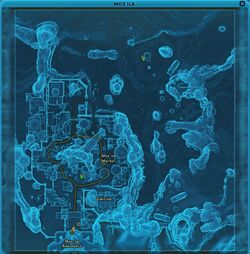 SWTOR - Mos Ila - game map