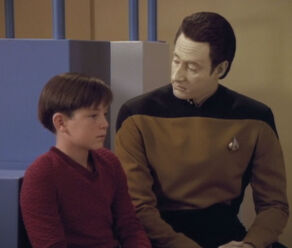 Data comforting Timothy