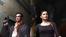 Max Payne and Mona Sax at Woden's Manor
