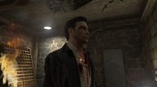 Max Payne in Woden's Manor's Basement