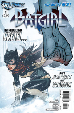 Batgirl Vol 4-5 Cover-1
