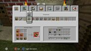 Xbox Minecraft Crafting GUI