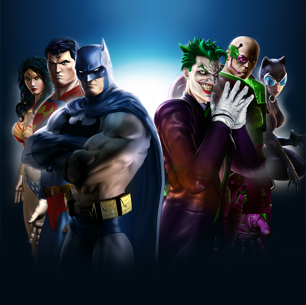 DCUO_boxart  sc 1 st  HeroMachine & Poll Position: Hero vs Villain ? | HeroMachine Character Portrait ...