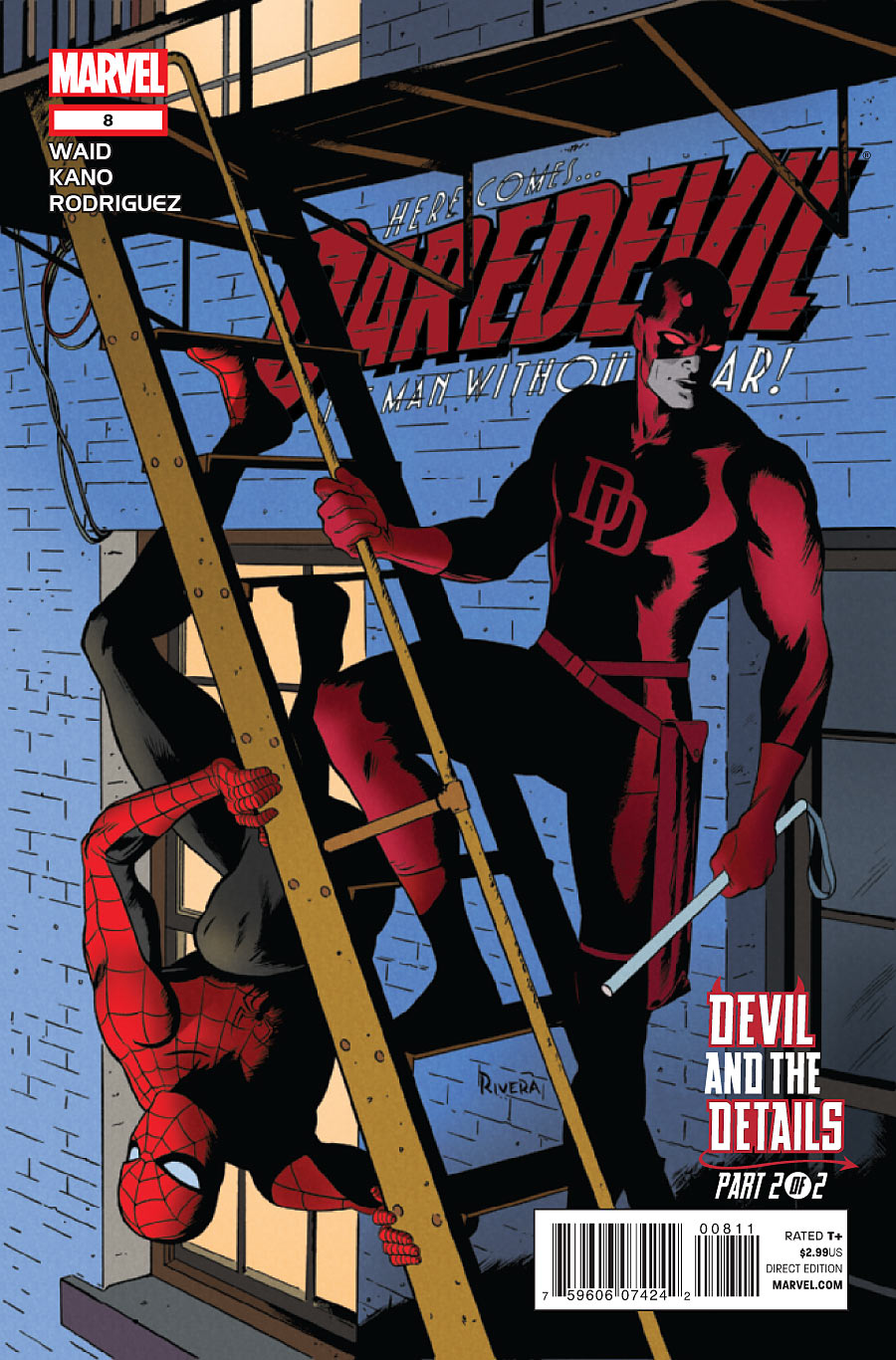 Daredevil vol 3 8 marvel comics database