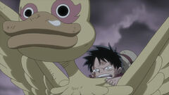 Chibi Luffy en Strong World