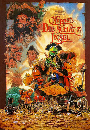 German-Muppets-Die-Schatz-Insel-Poster