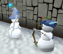 SNowman fight 2