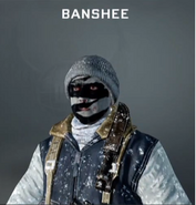 Banshee Face Paint BO