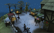Snowy Draynor Village