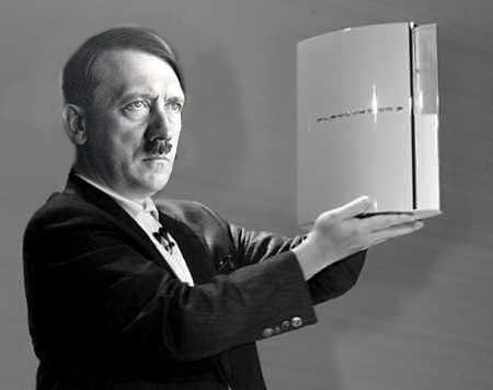 Image - Dolfy holding PS3.jpg - Hitler Parody Wiki ...