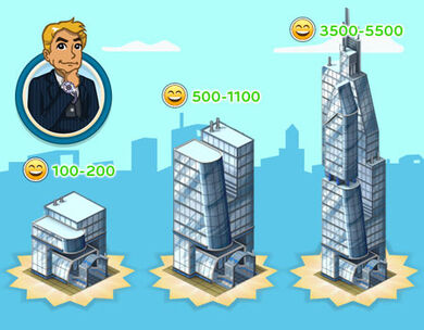 Announce skyscrapers blue1