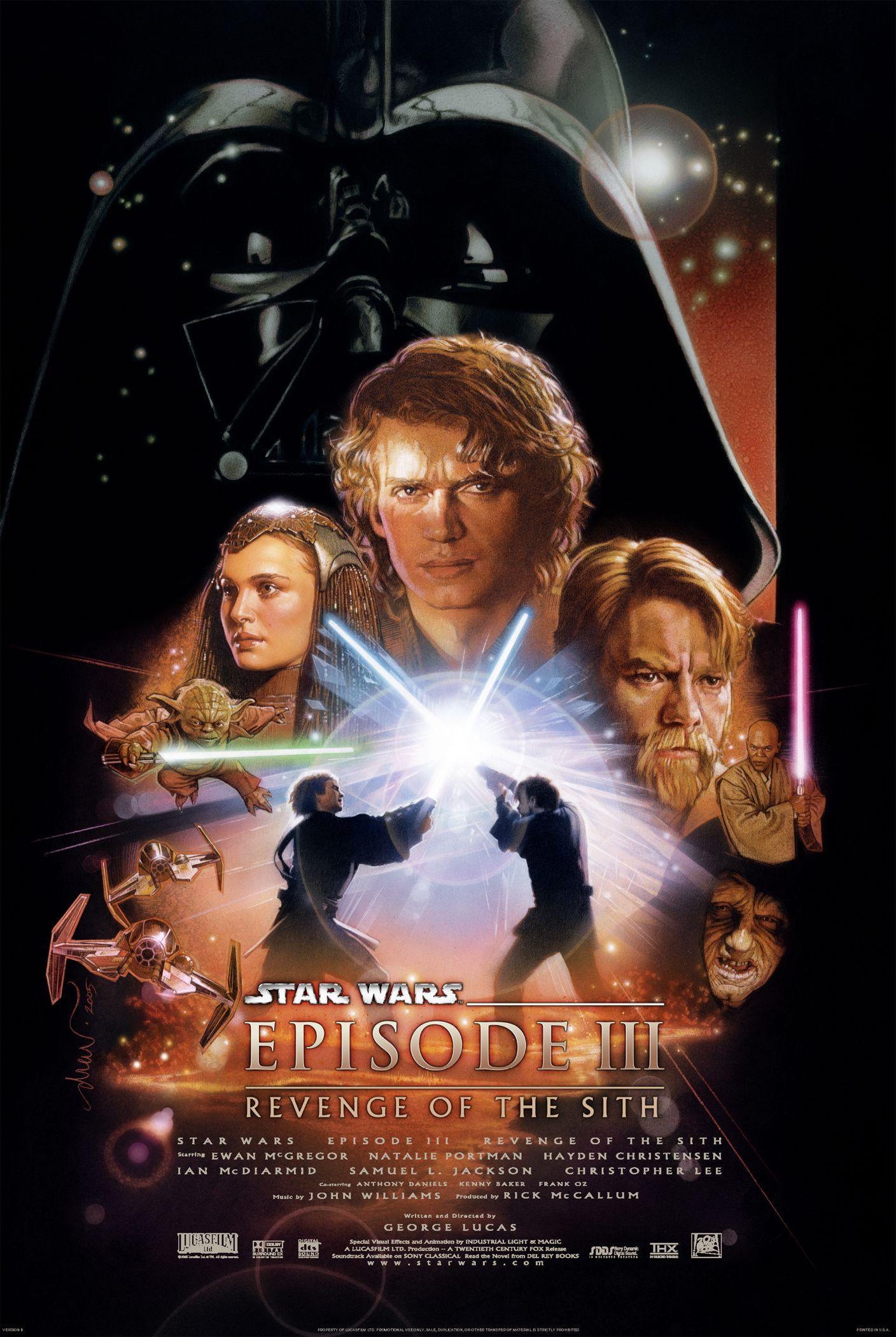 Star wars episode three poster2
