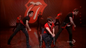 Moves like jagger frontview