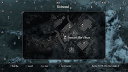 Map Sven and Hilde's house