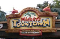 Mickey's Toontown at Disneyland