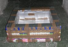 Tetra Brik Solar Box Cooker photo 1, 1-20-12