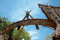 Adventureland of Disneyland Anaheim