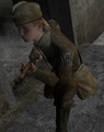 Crouching Soviet CoD2
