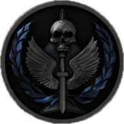 Task Force 141 insignia 3D