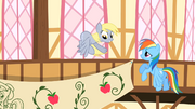 Derpy Hooves Flying S2E14