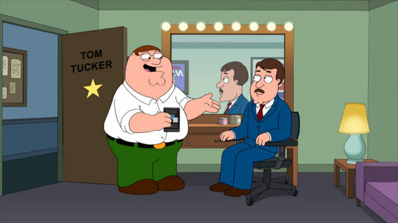 Family Guy Season 10 Episode 13 Tom Tucker: The Man and His Dream