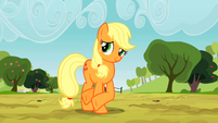 Applejack looking slick S2E14