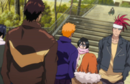 Ichigos friends cheer him up